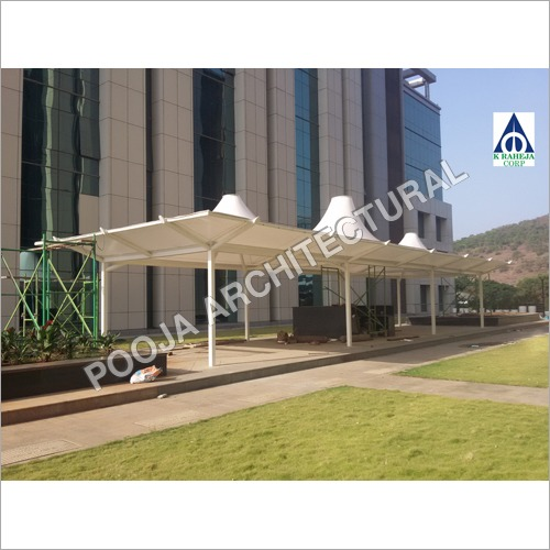 Tensile Membrane Conical Structure for canteen