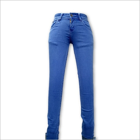 Ladies Stone Denim Jeans