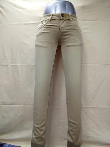 Dark Phone Color Ladies Jeans