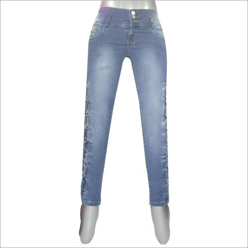 Stone Pattern Jeans