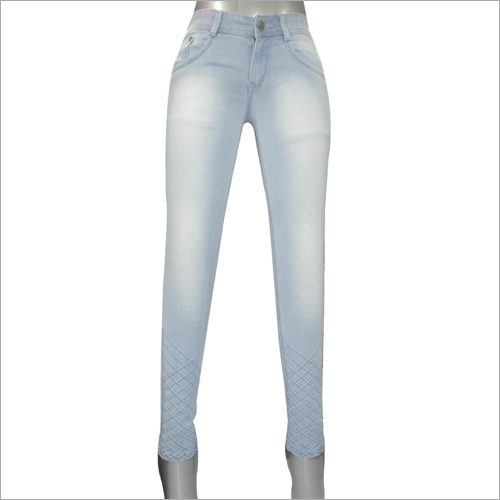 Ladies Pattern Jeans 102