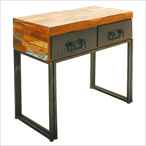 Industrial Chic Recycled Shabby Console Table