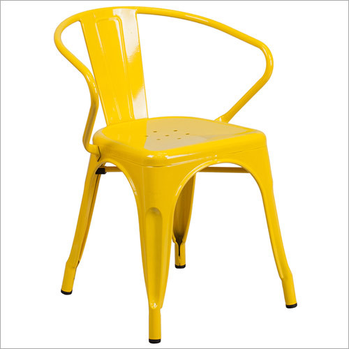 Tolix Yellow Chair