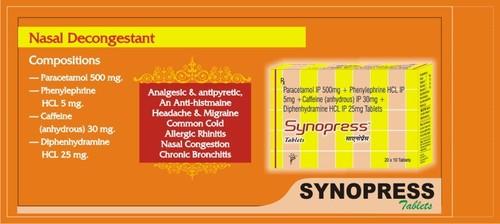 SYNOPRESS TABLETS