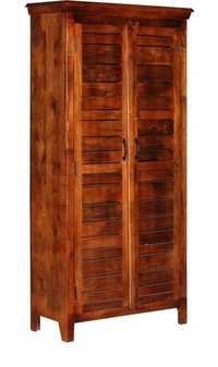 Golden Brown Scale Door Wardrobe