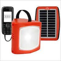 Red LED Solar Lantern