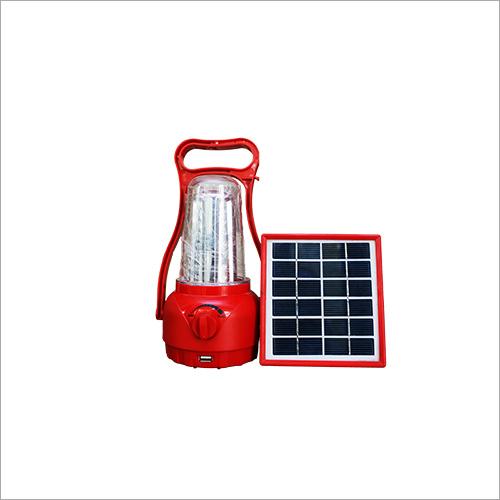Red Solar Lantern