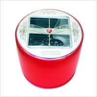 Solar Folding Red Lantern
