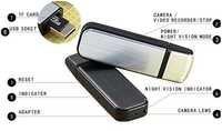 SPY HIDDEN SECRET USB TYPE SPY CAMERA NIGHT VISION