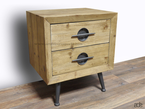 Classic Wooden Bedside