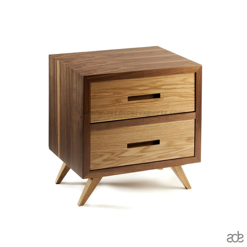 Wood Bedside