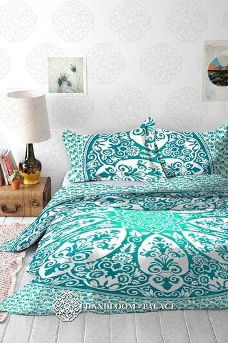 Cotton Fabric Duvet Cover