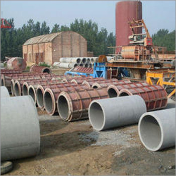 RCC Pipe Making Plant
