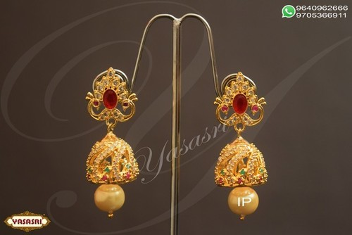 Cz traditional ear rings
