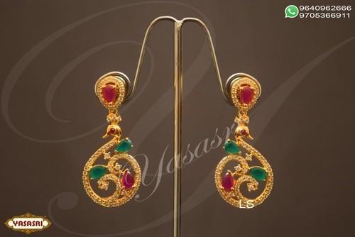 Fancy woman ear rings