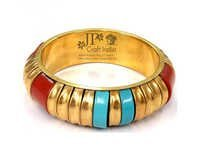 Brass Resin Pipe Bangle