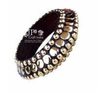 Wood Tikli Sardari Bangle
