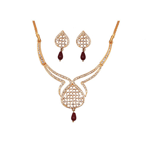 Raniya Red Stone Necklace