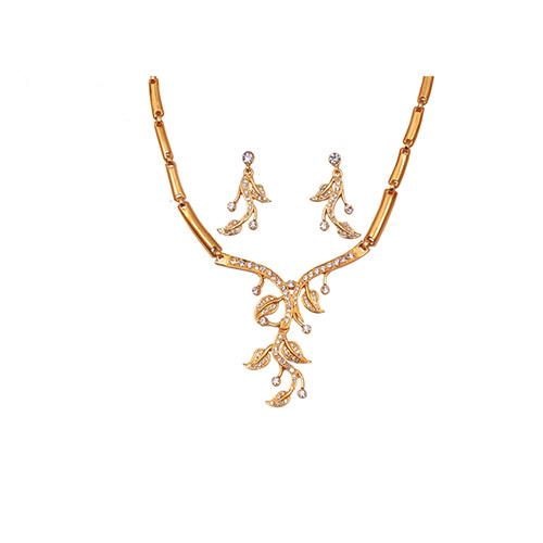 Flower Leaf Necklace
