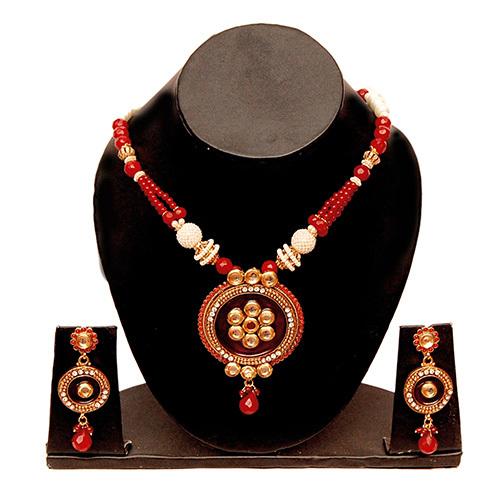 Big Round Beads Necklace