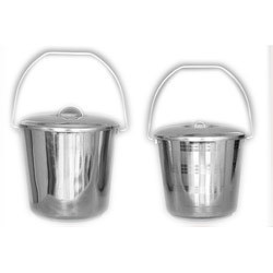 Milk Bucket Stainless Steel