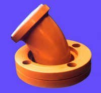 MS PTFE Lined Elbow