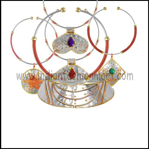 Tri Metal Necklaces