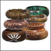 Wooden Bangles Antique