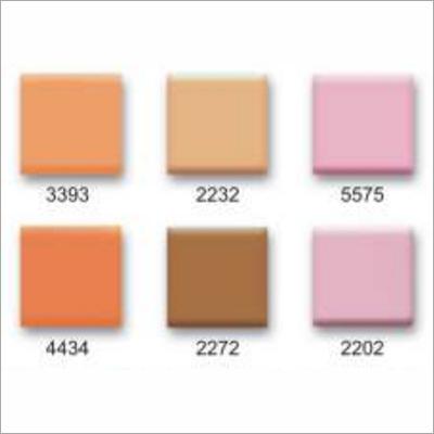 Mattish Colored Tiles