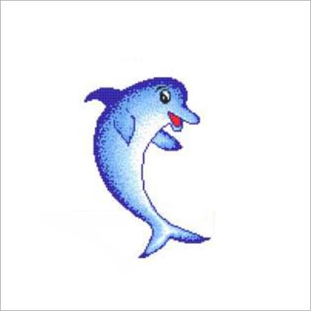 Dolphin Design Mosaic Wall Tiles