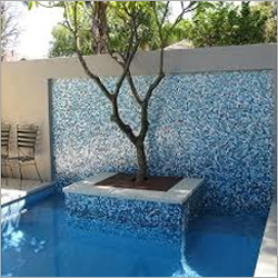 Swimming Pool Blue Tiles