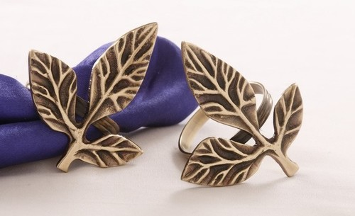 Leaves Design Napkin Ring
