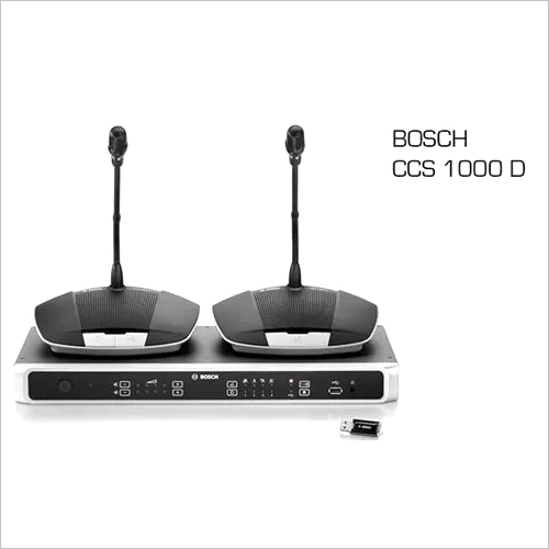 BOSCH Digital Discussion System CCS-1000D