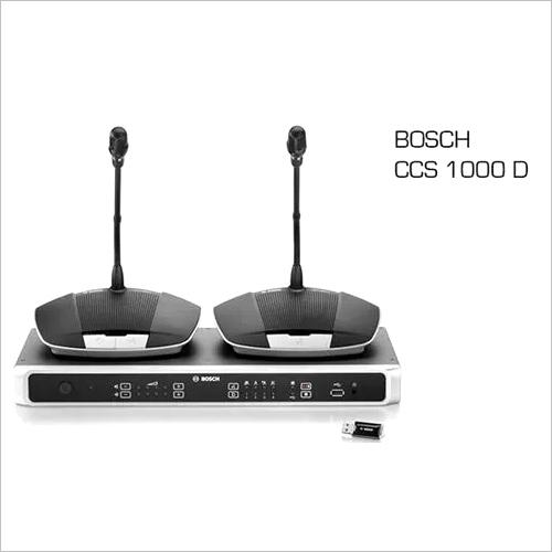 BOSCH Digital Discussion System CCS-1000D