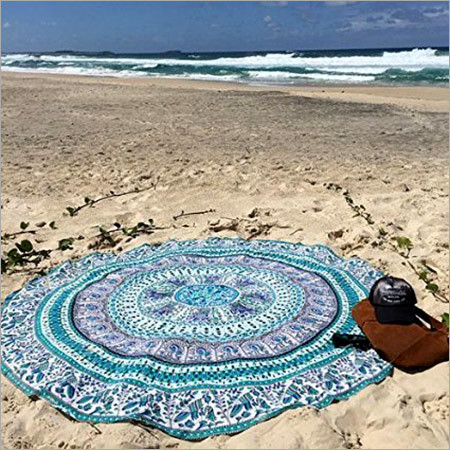 Beach Mandala Roundies