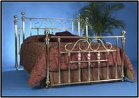 METAL DOUBLE FRAME BED