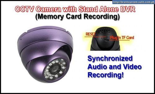 SPY CCTV CAMERA WITH IN BUILT DVR