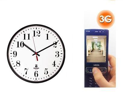 SPY 3G HIDDEN WALL CLOCK CAMERA