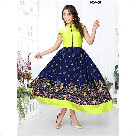 Ladies Trendy Printed Frock