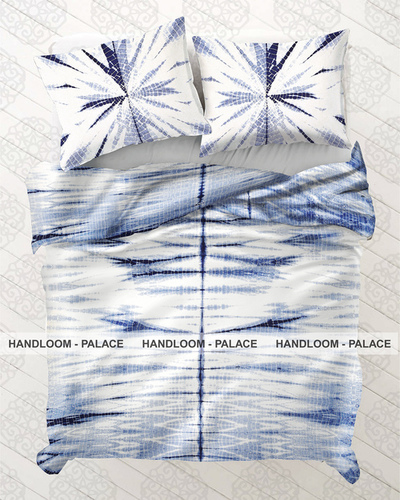 Shibori Cotton Bed Cover