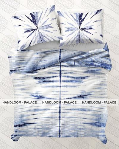 Shibori Cotton Bed Cover