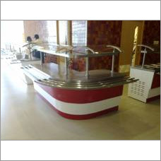 Display Glass Counter