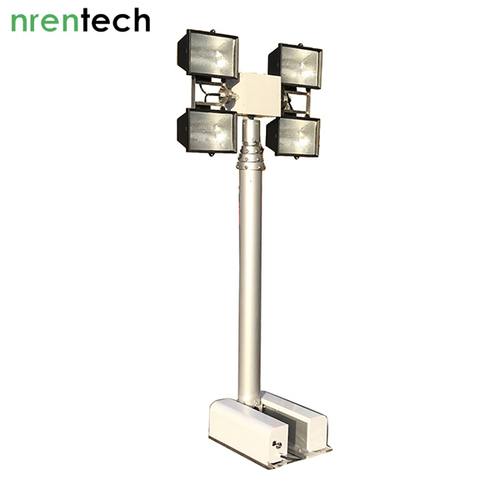 4.2m Roof Mounted Foldable Mast Light Tower