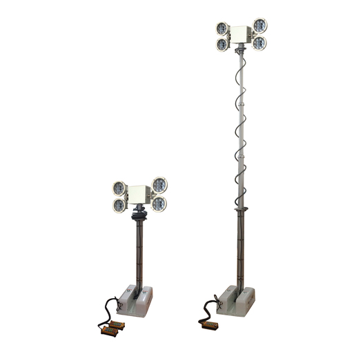 2.5m Roof Mount Mast Move Light