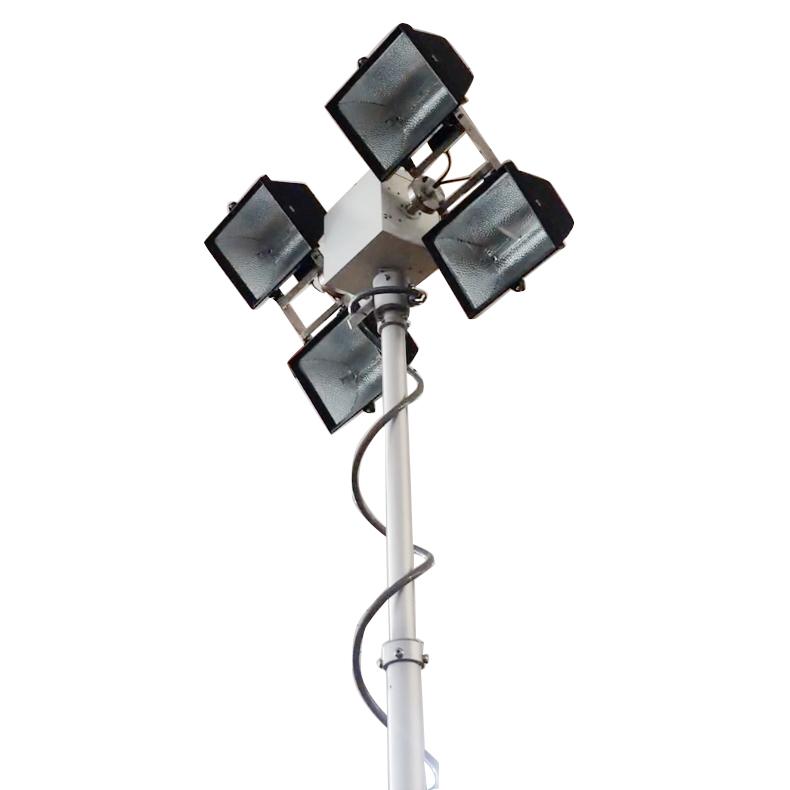 Halogen Lamps Roof Mount Move Lighting Tower