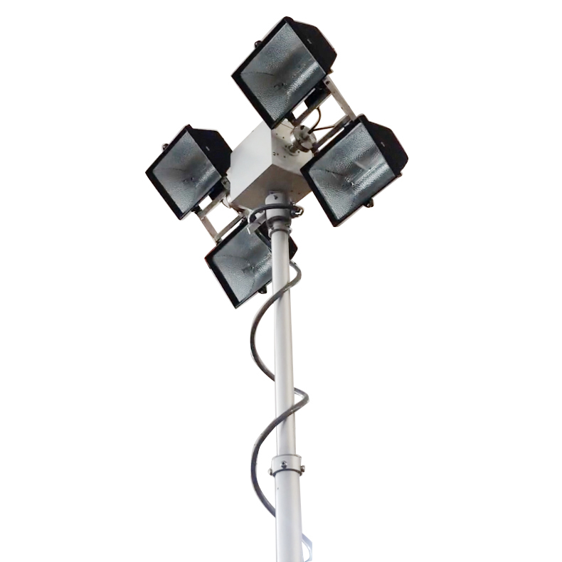 Halogen Lamps Roof Mount Move Lighting Tower