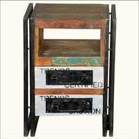 Reclaimed Industrial Trendy Bedside