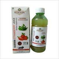 Aloe Vera Strawberry Juice