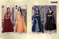 Zubeda  Design Heavy Embroidery Anarkali Salwar Suit