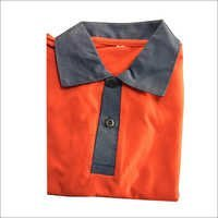 Orange Polo T Shirt